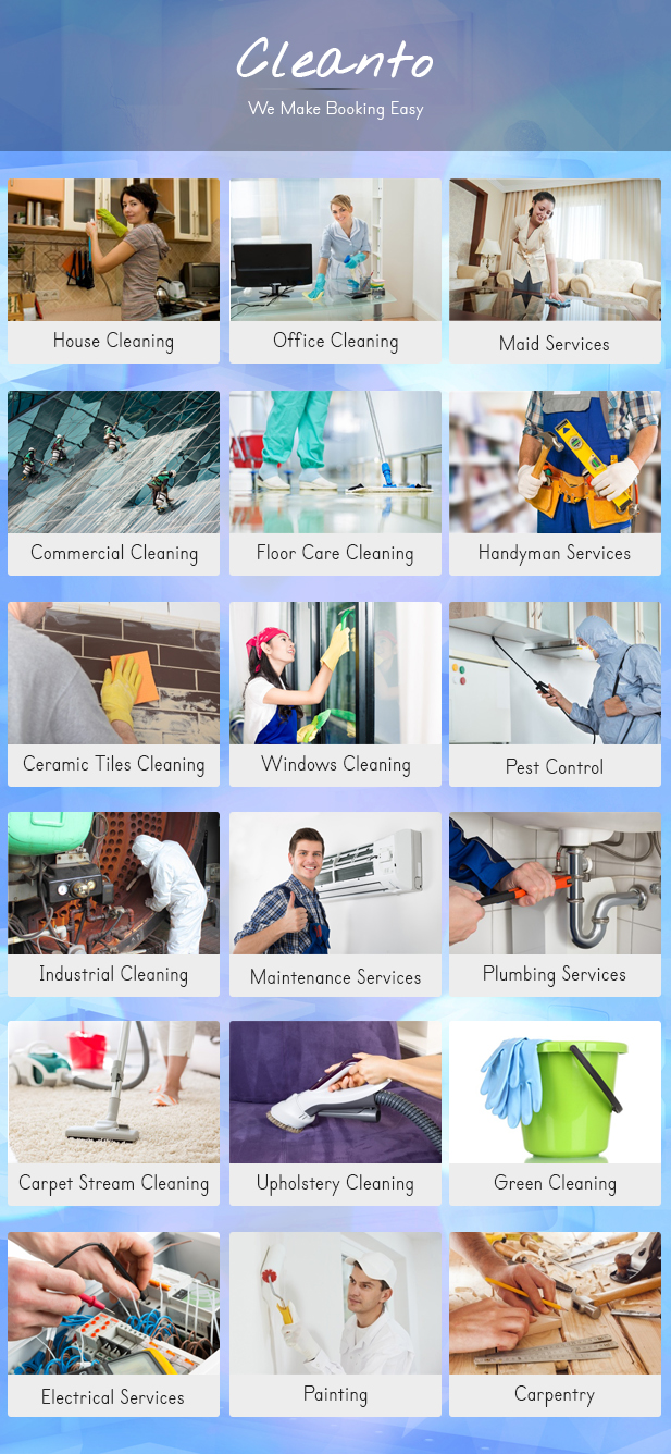 Online bookings management system for maid services and cleaning companies - Cleanto - 18